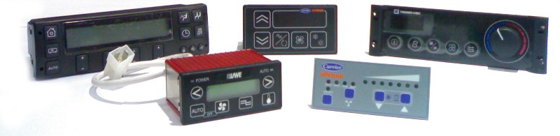 Climate Controllers - UWE, Carrier Sutrak, Thermoking